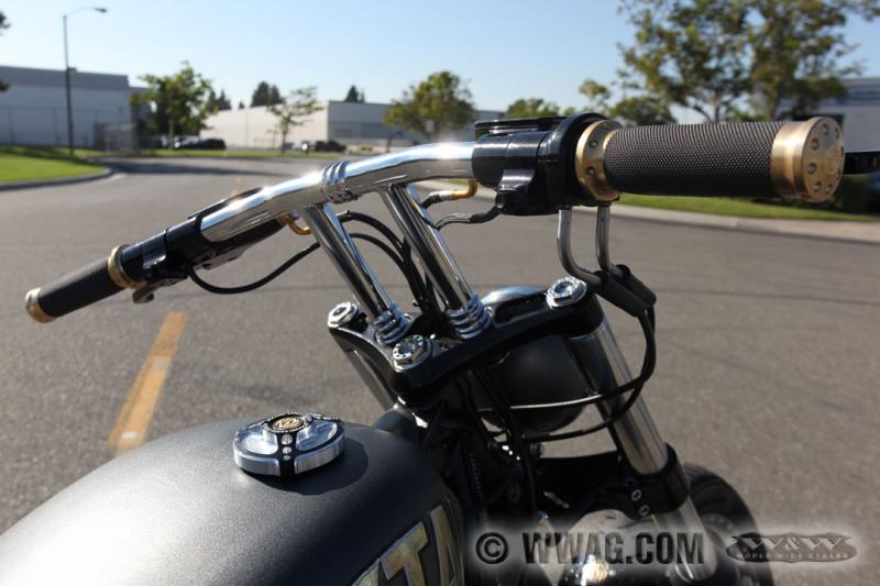 W Amp W Cycles Tank Gt Rsd Tracker Tankdeckel