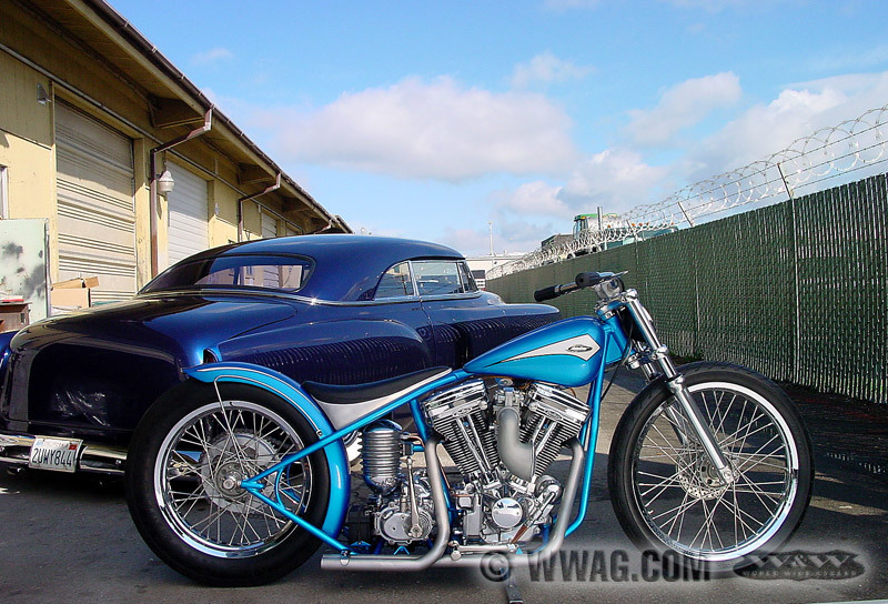 W Amp W Cycles Tank Gt Cole Foster Bobber Style Benzintanks