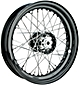 Wheels with Tapered Roller Star Hub and Drop Center Steel Rim