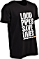 W&W LOUD PIPES SAVE LIVES T-Shirts