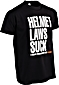 W&W HELMET LAWS SUCK T-Shirts