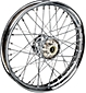 Wheels with Tapered Roller Star Hub and Classic Profiled Semi-Drop Center Rim
