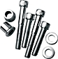Screw Kits for Handlebar Clamp and Gauges FX 1983-1994