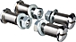 Paughco Rocker Shafts for Classic and I-Beam Springer Forks