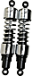 Progressive Suspension 412 Series Heavy Duty Shock Absorbers for V-Rods