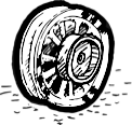 Complete Wheels with Drum Brake Hub 1936-1972