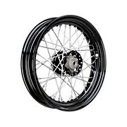 Wheels with Star Hub and Drop Center Steel Rim