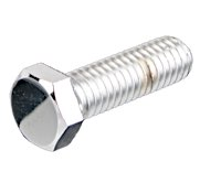 Hex Head Bolts Chrome-Plated