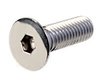Countersunk Socket Head Screws Stainless Polished