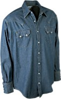 Rockmount Stonewashed Denim Western Shirts