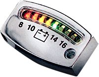 Kuryakyn LED Battery Gauge