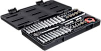 "GearWrench Ratchet and Socket Sets 1/4"" SAE/Metric"