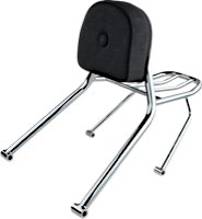 Fehling Luggage Carrier with Passenger Backrest