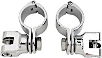 Kuryakyn Magnum Quick Clamps with Footpeg Mounts