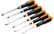 Bahco 6 Impact Head Flat Tip and Pozidriv Screwdriver Set