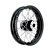 "TTS Rear Wheels with Wide Stainless Steel Hub ""2000-07""-Type and Drop Center Steel Rim"