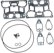 S&S Gasket Kits for Rocker Covers: Twin Cam Engines