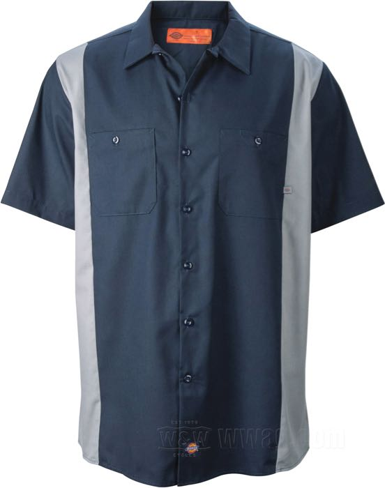 Dickies Color Block Work Shirts