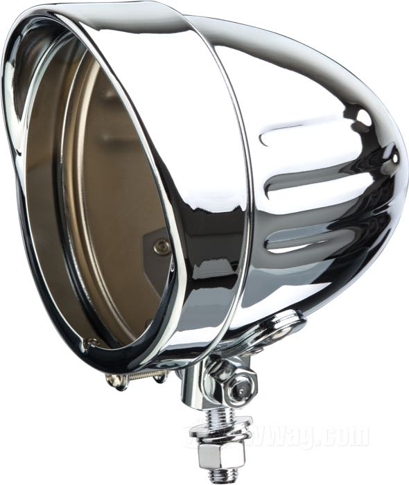 Streamline Headlight Housing Grooved
