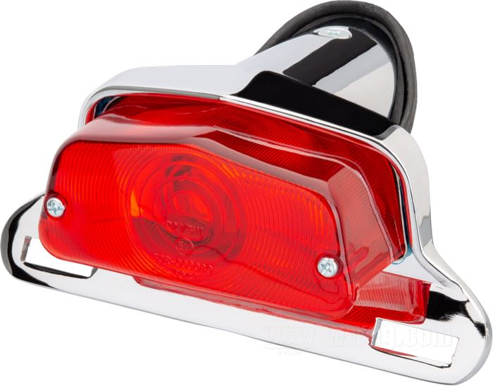 Lucas 564 Type Taillights with License Bracket