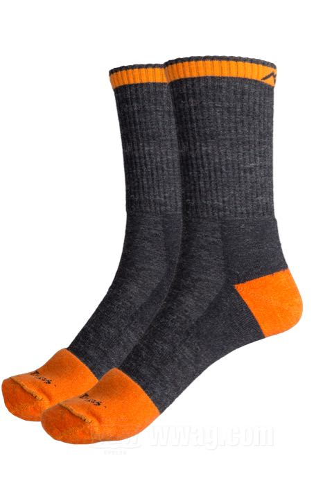 Darn Tough Steely Micro Crew Full Cushion Socks