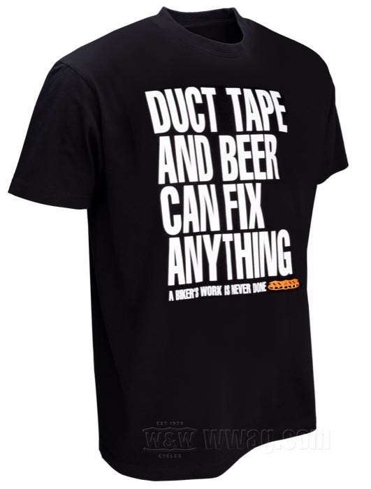 W&W DUCT TAPE AND BEER T-Shirts