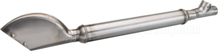 The GasBox Fishtail Seamed Mufflers