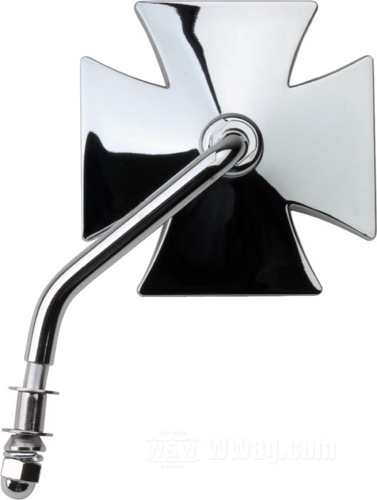 Maltese Cross Rear View Mirrors Standard