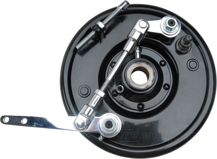 Dual Leading Shoe Springer Brake