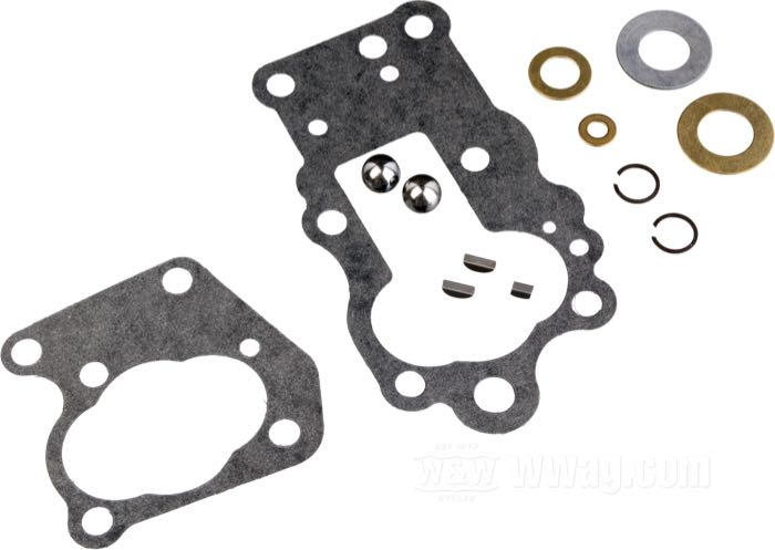 James Rebuild Kits for Oil Pumps: Big Twins 1936-1967