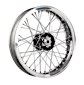 Wheels with Tapered Roller Star Hub and Flanged Aluminum Rim