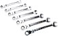 GearWrench Flex Combi Ratcheting Wrench Sets SAE
