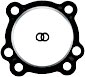 "Gaskets for Cylinder Head: Twin Cam 3-3/4 "" Bore"